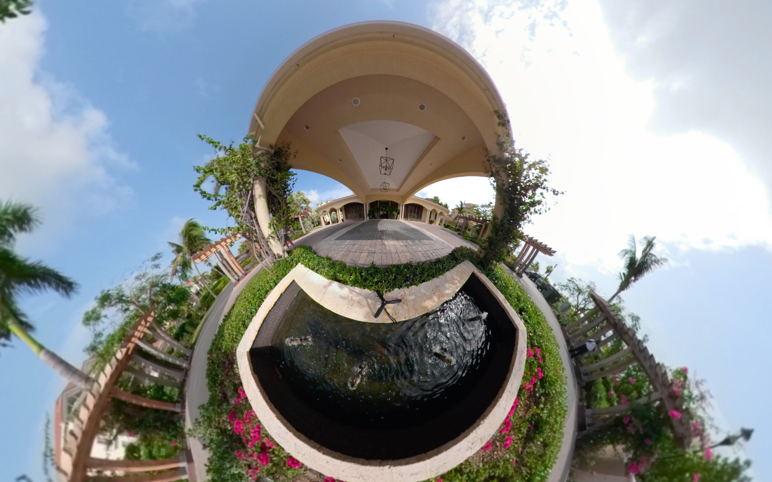 Grace Bay, Turks and Caicos, Entrance - Click for VR 360