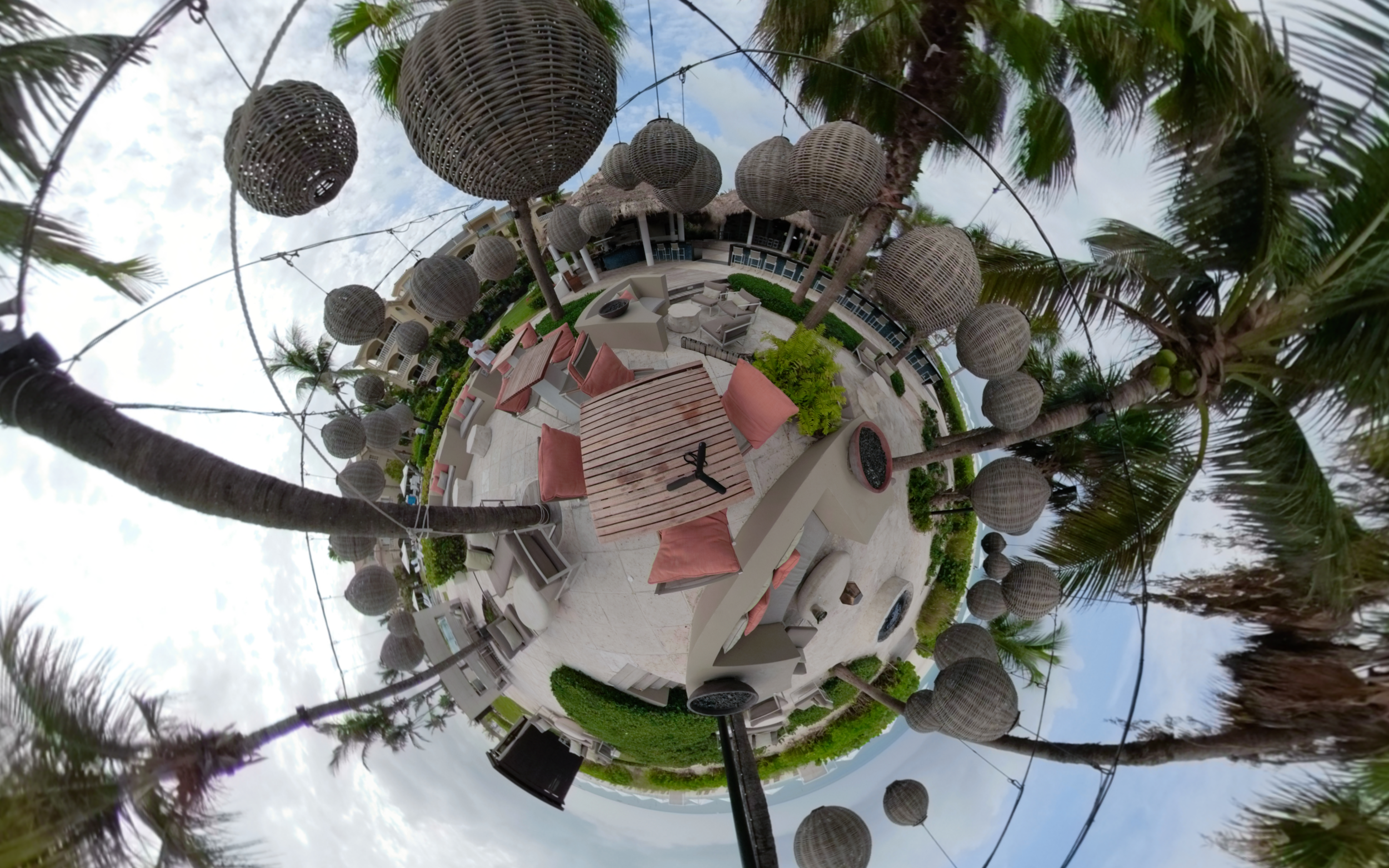 Grace Bay, Fire Pit - Click for VR 360