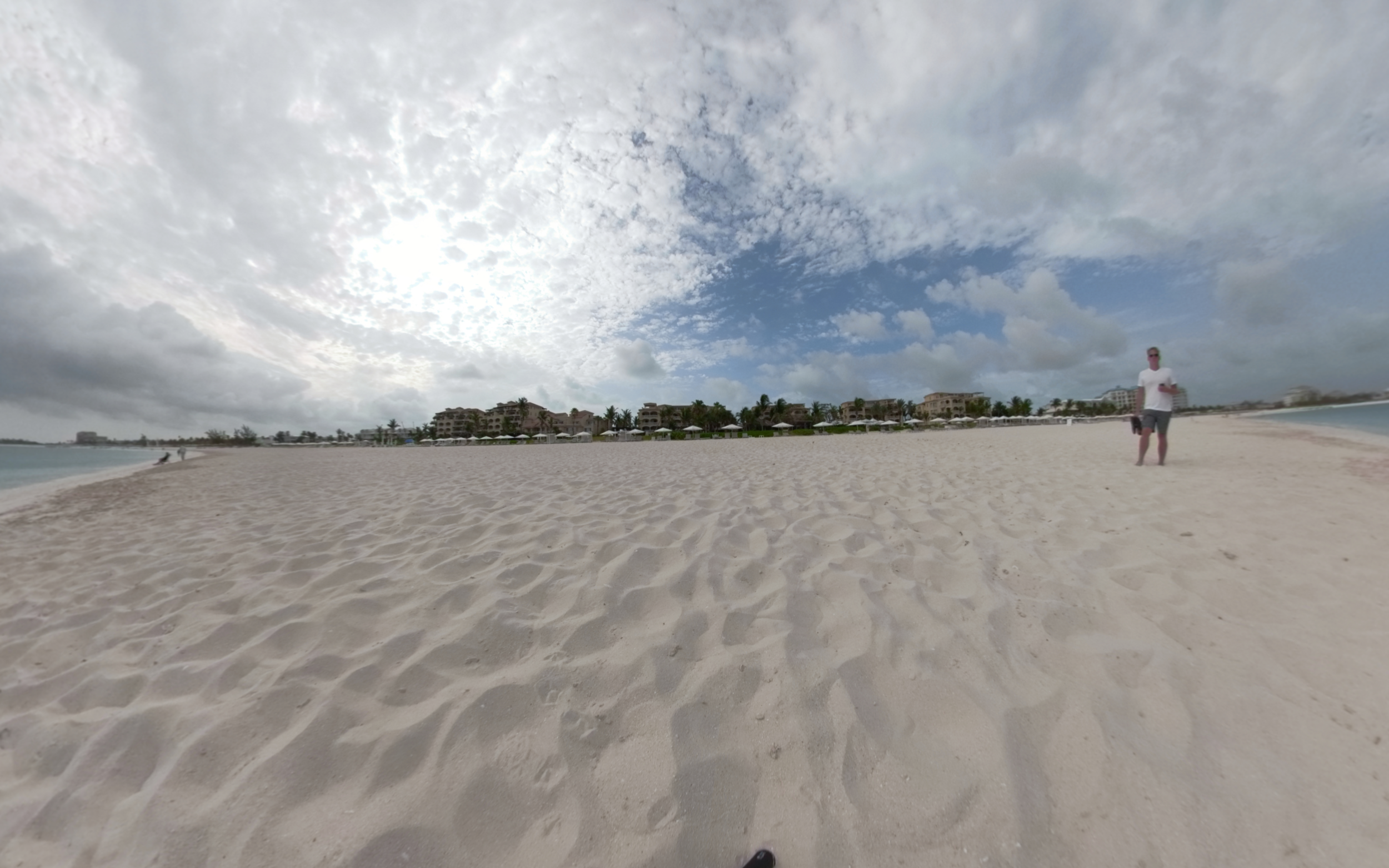 Grace Bay Beach, Turks and Caicos - Click for VR 360