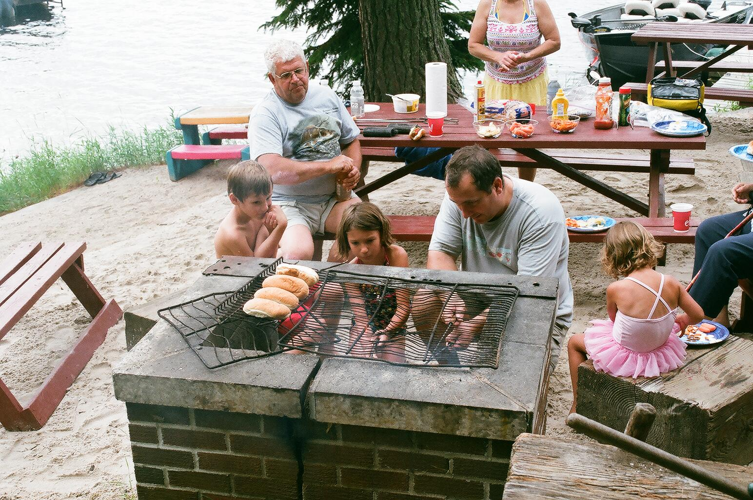 Roasting Hot Dogs