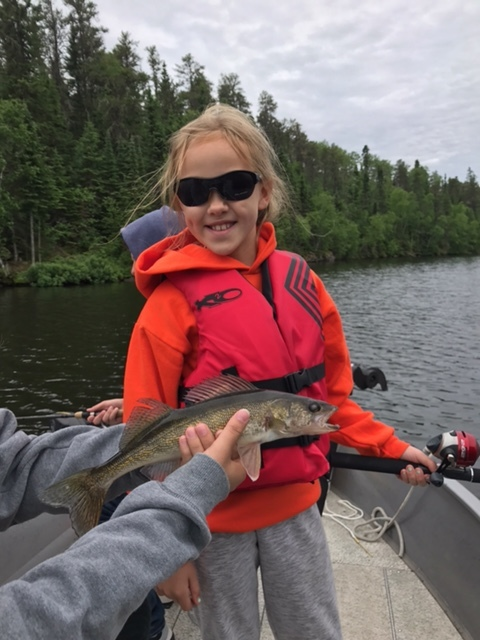 Claire's Walleye (and smiles)....