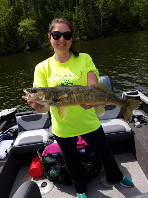 Shawna's beautiful walleye!!