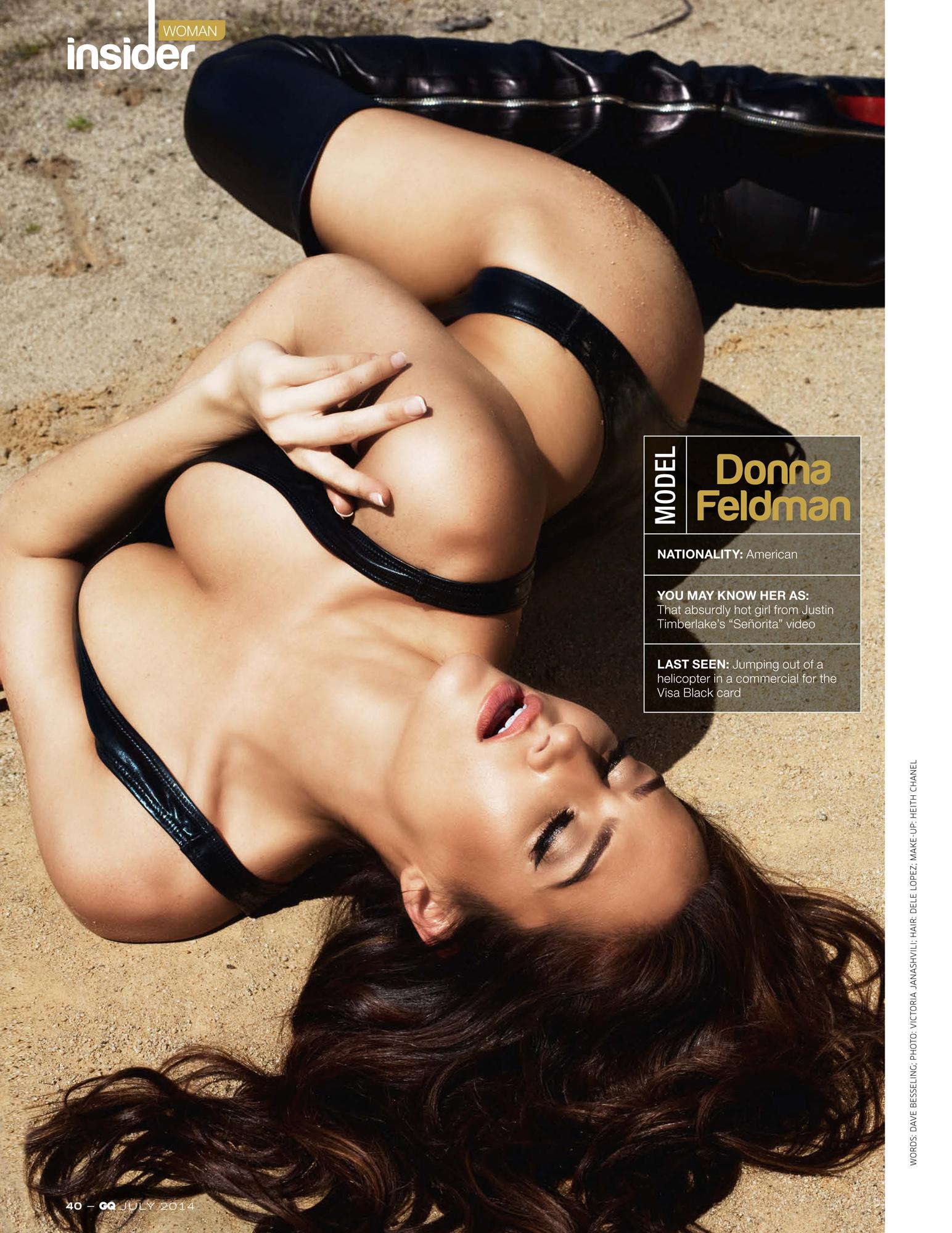 GQ India Donna Feldman