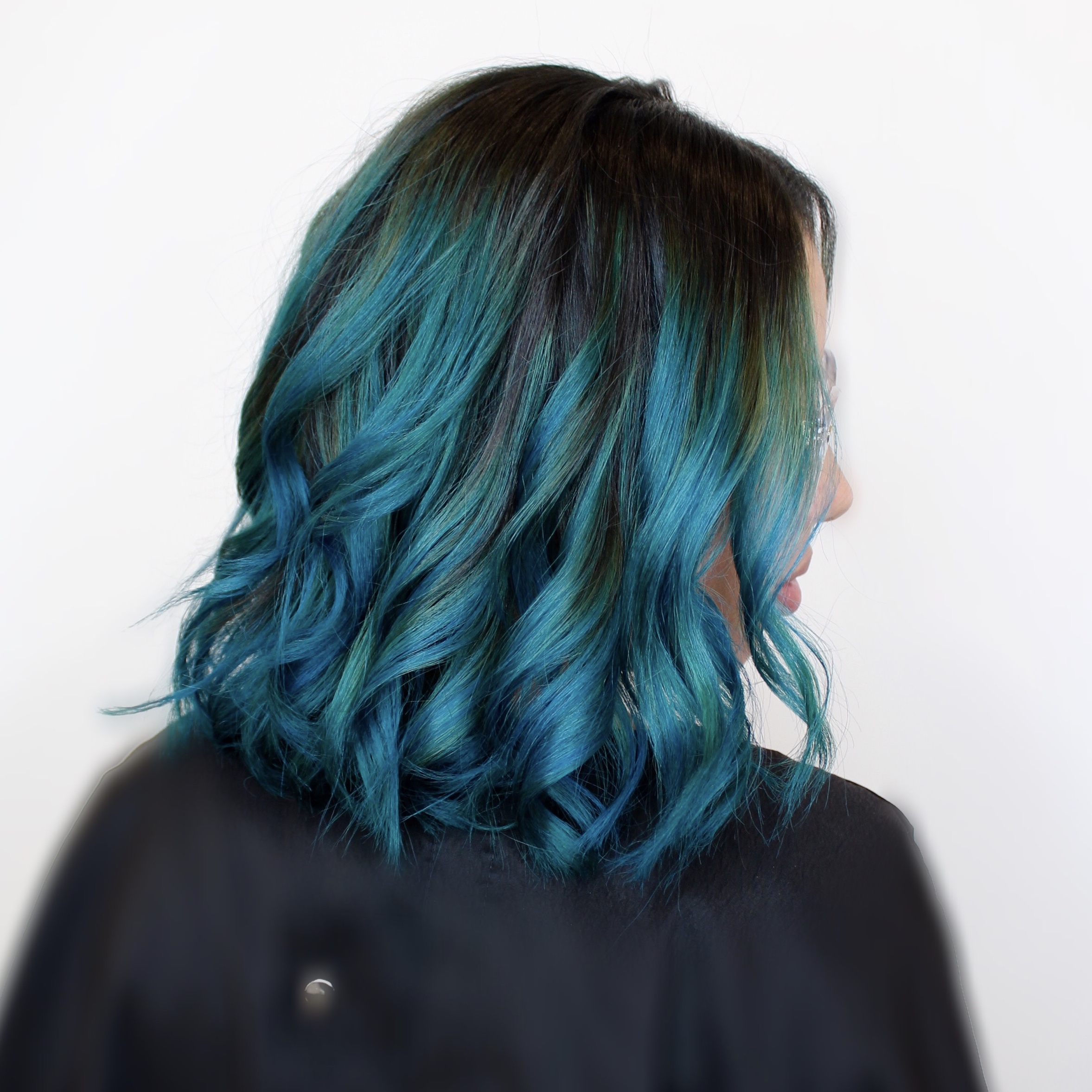 Ocean Blue - With edgy colors on the rise and stylist perfecting their