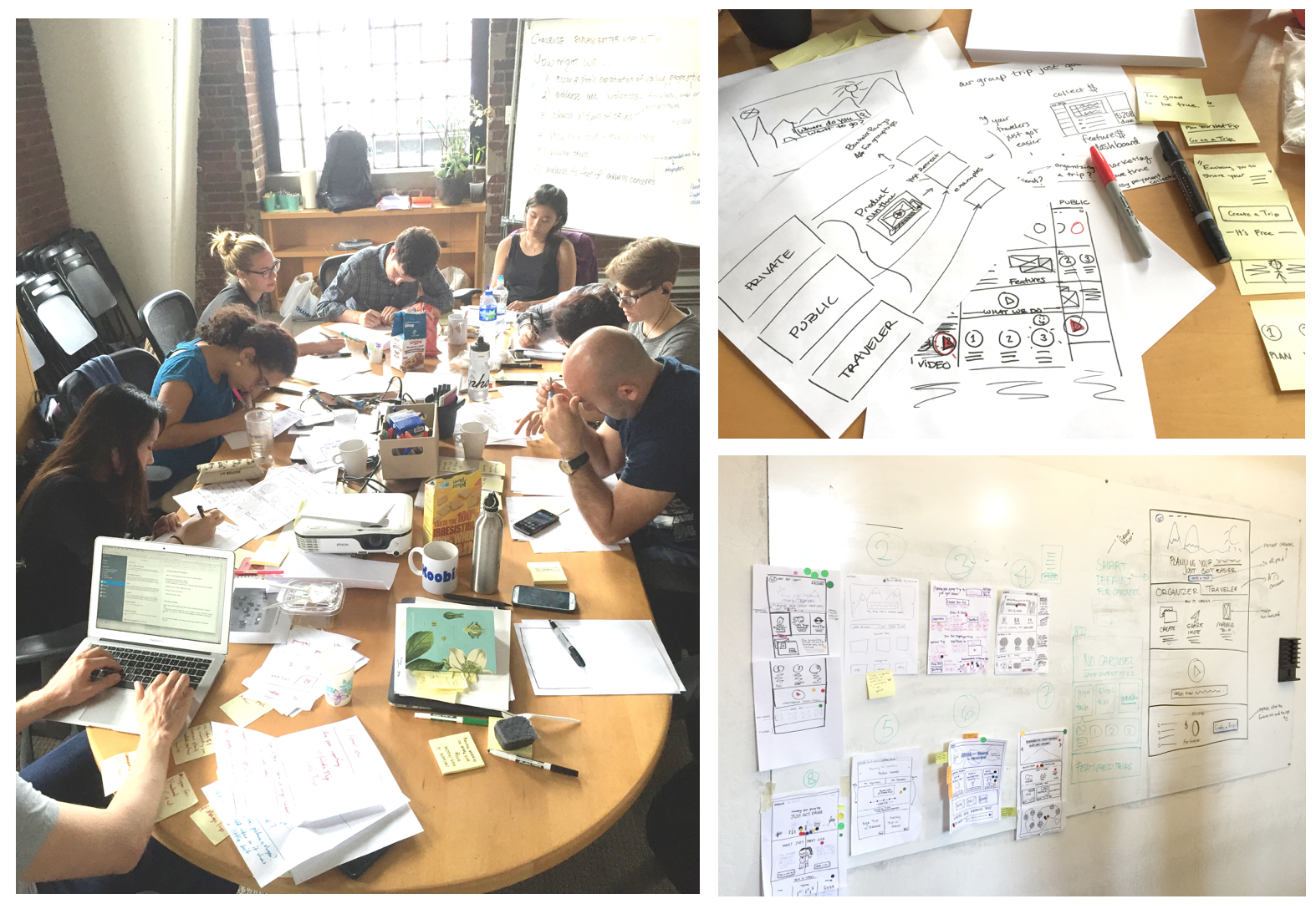 Scenes from our design studio