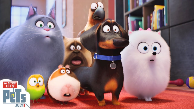The Secret Life of Pets  crushed the box office with an estimated $104.35 Million.