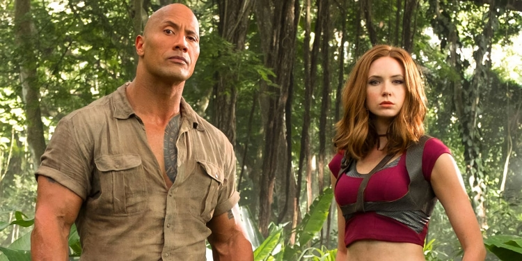 Welcome to the Jungle once again took the top spot at the box office with an estimated 19.5 Million.