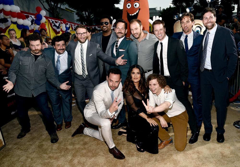 Most of the cast. Minus Kristen Wiig.