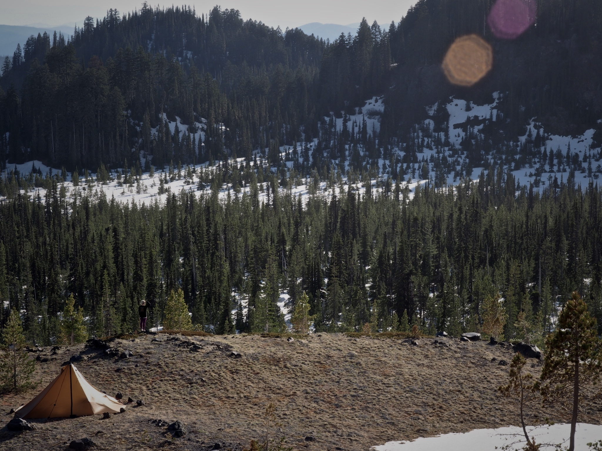 These tipis just look natural in the backcountry. How much better can this get?