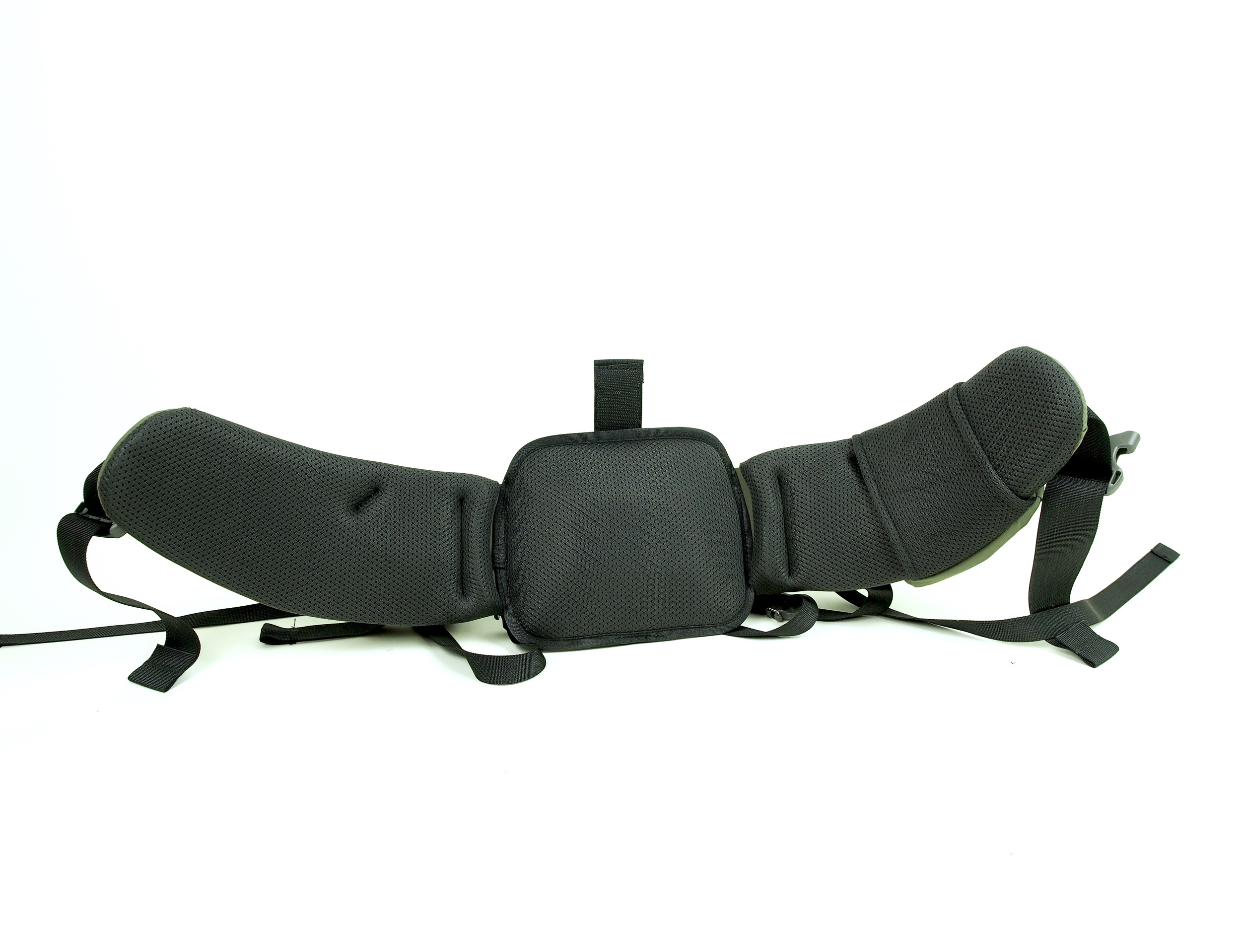 Here's the waist belt of the Ultra 3000.  You can see how it differs from the Icon Pro in the previous photo.