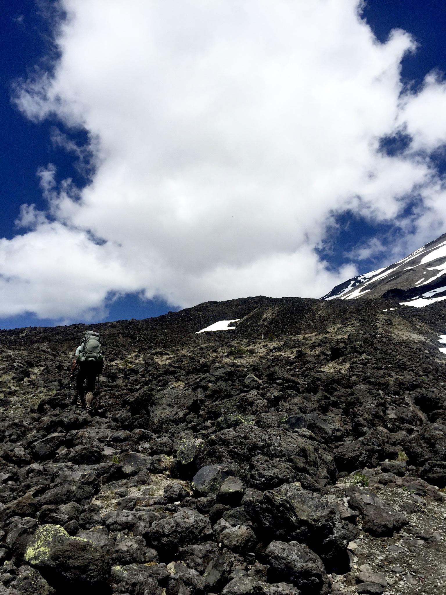 Loowit Trail Boulder Field
