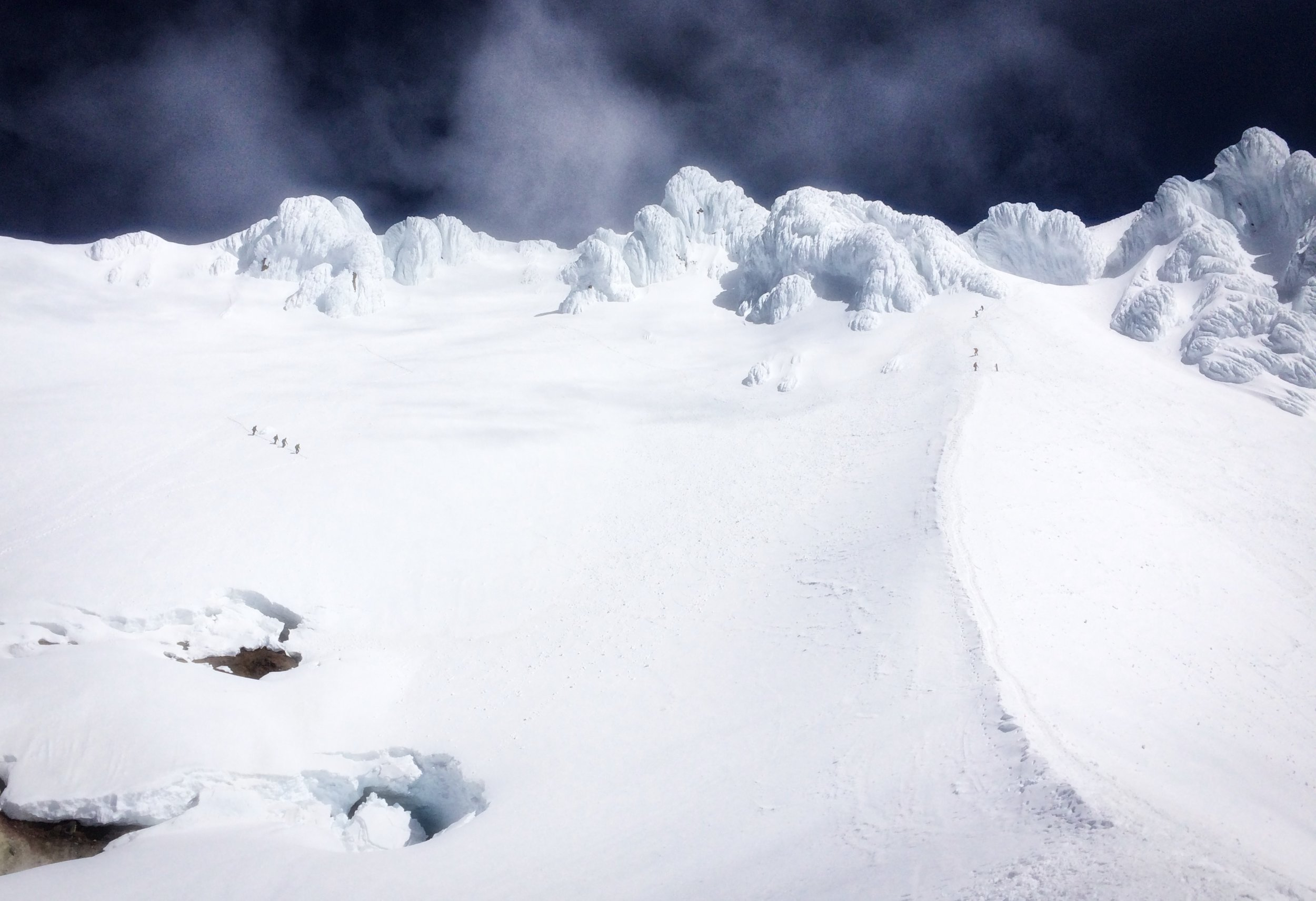 Every year, climbers attempt the summit of Mount Hood in Oregon. Some make it, others turn back, and some never make it home. Mount Hood has a history of taking lives so it's important to be prepared mentally and physically for the task. It's not a mountain to take lightly. Wy'east is wild and makes her own rules.
