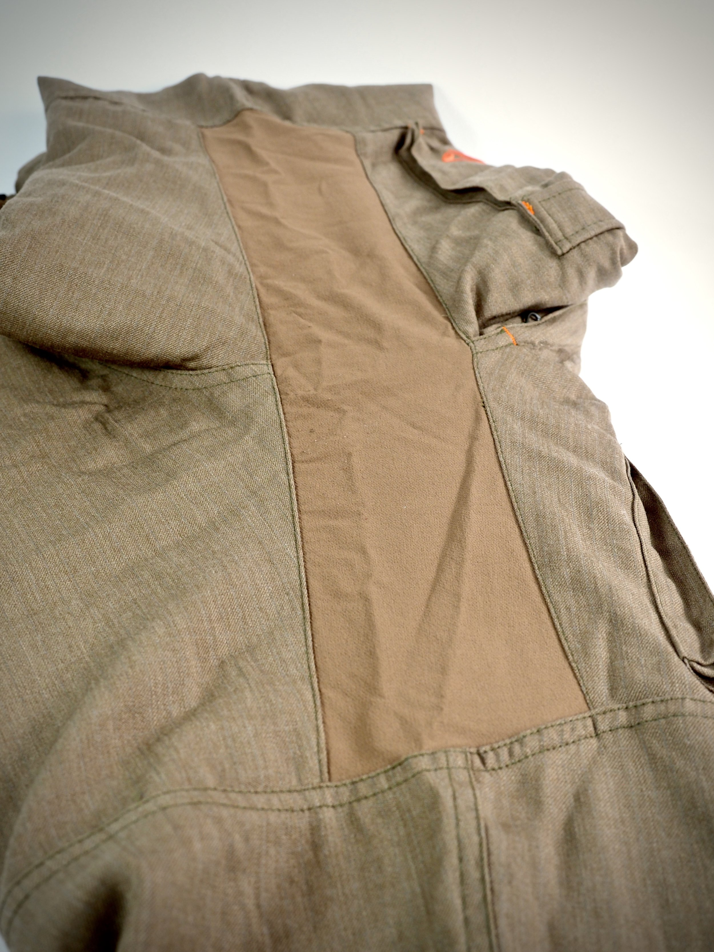 The stretch panel in the crotch of the Kanab.