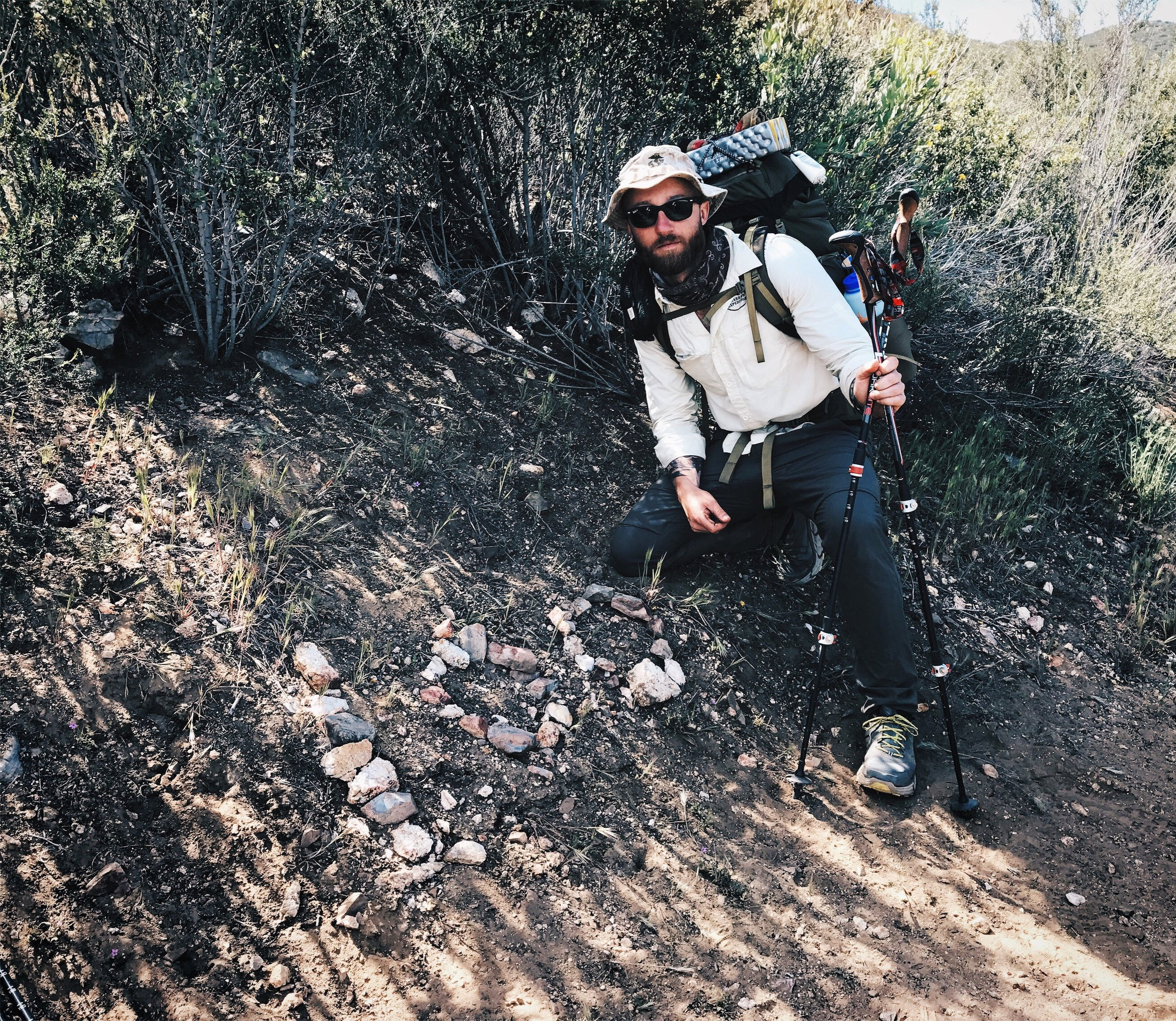 So weird knowing you've hiked 100 miles. Not sure what to make of it
