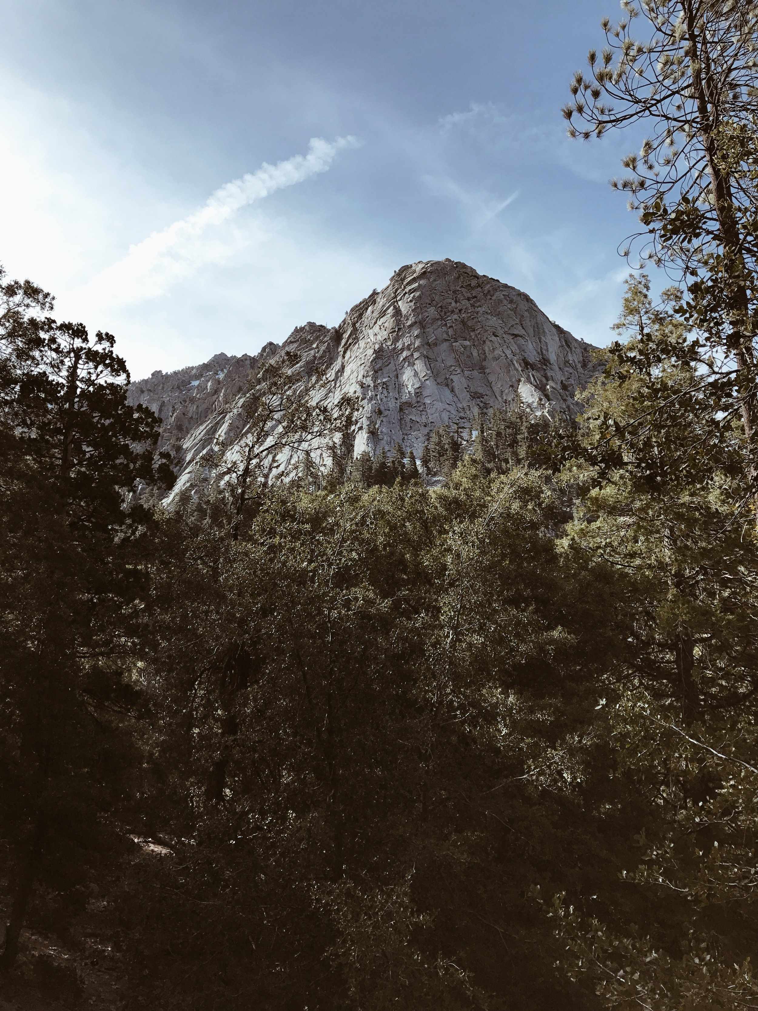 Devils Slide coming out of Idyllwild