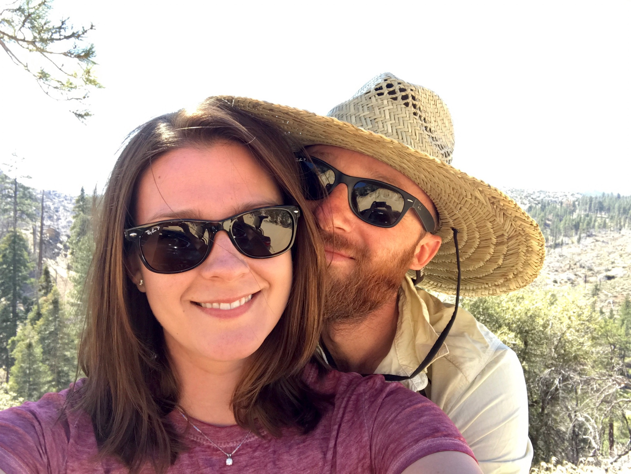 So grateful for a partner like Jess. Our time in Big Bear was short, but perfect.