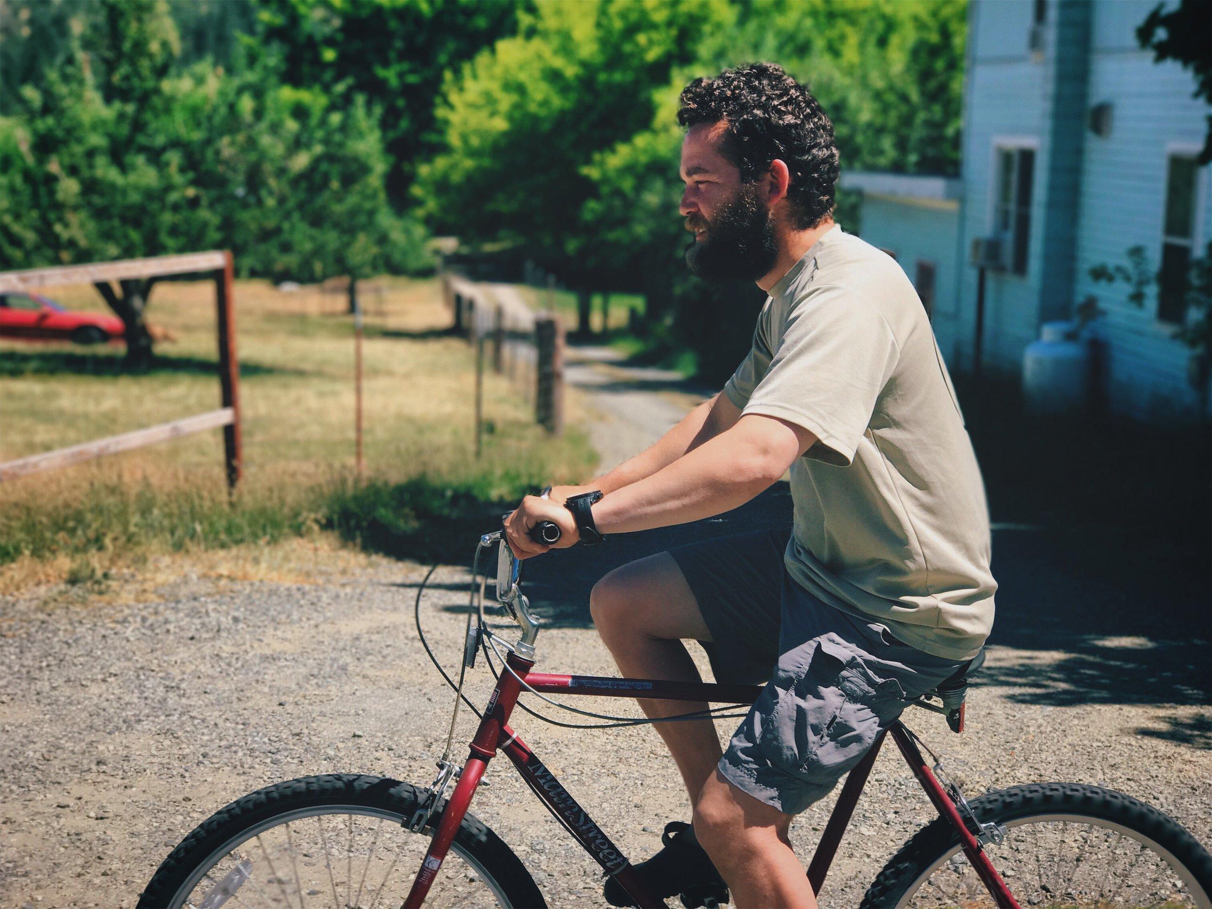 Loaner bikes in Etna!