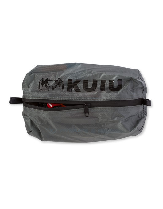 Kuiu Dry Zip Bag - These organizational baggies are amazing. They're pretty much waterproof and so helpful to have.