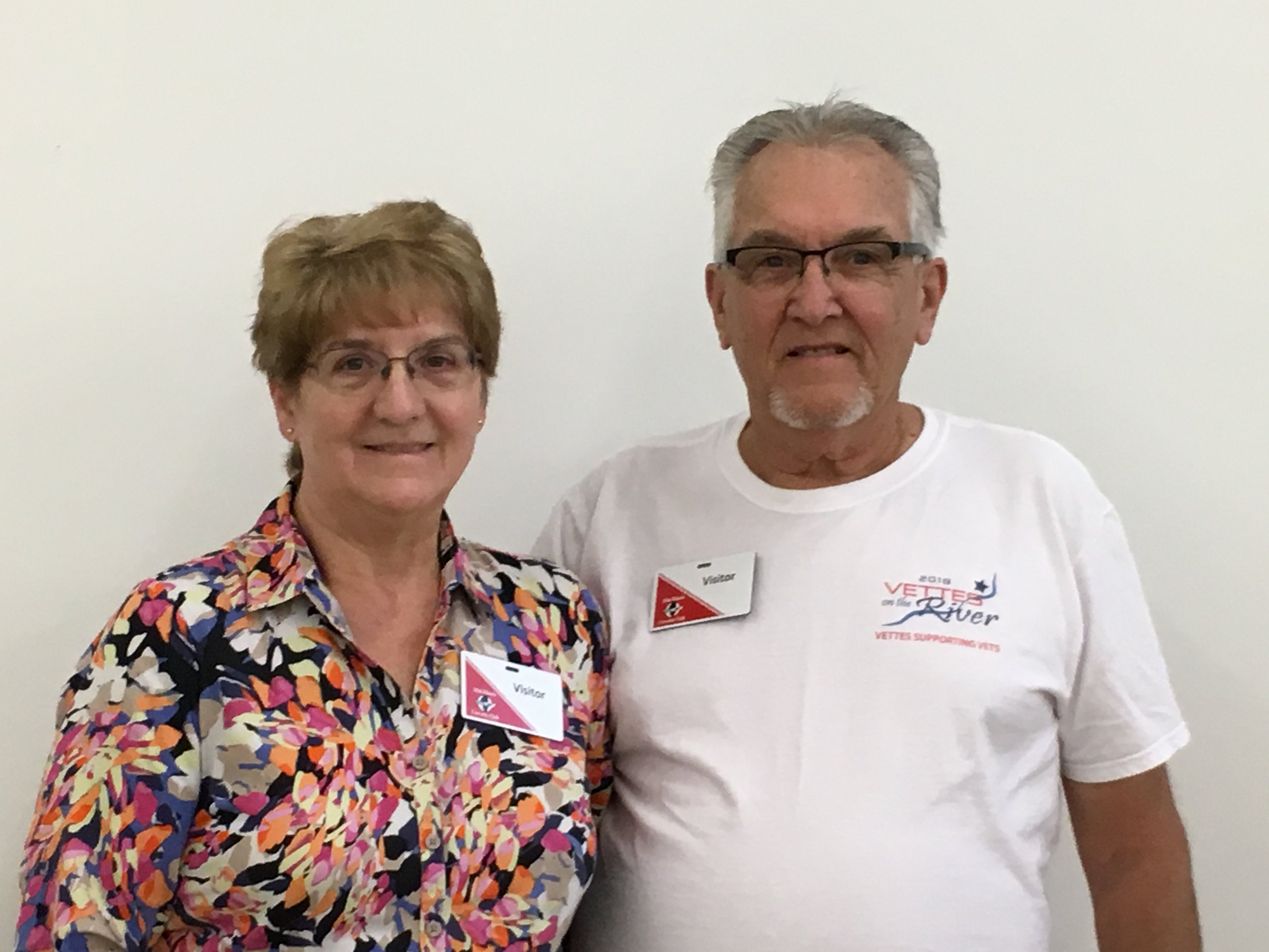 Johnne and Karen Walker