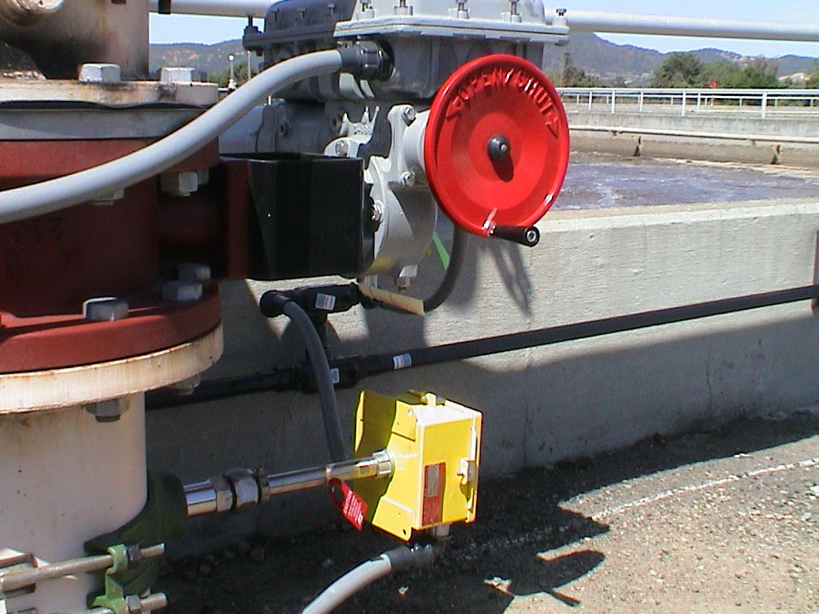 Aeration Basin Valve & Flowmeter