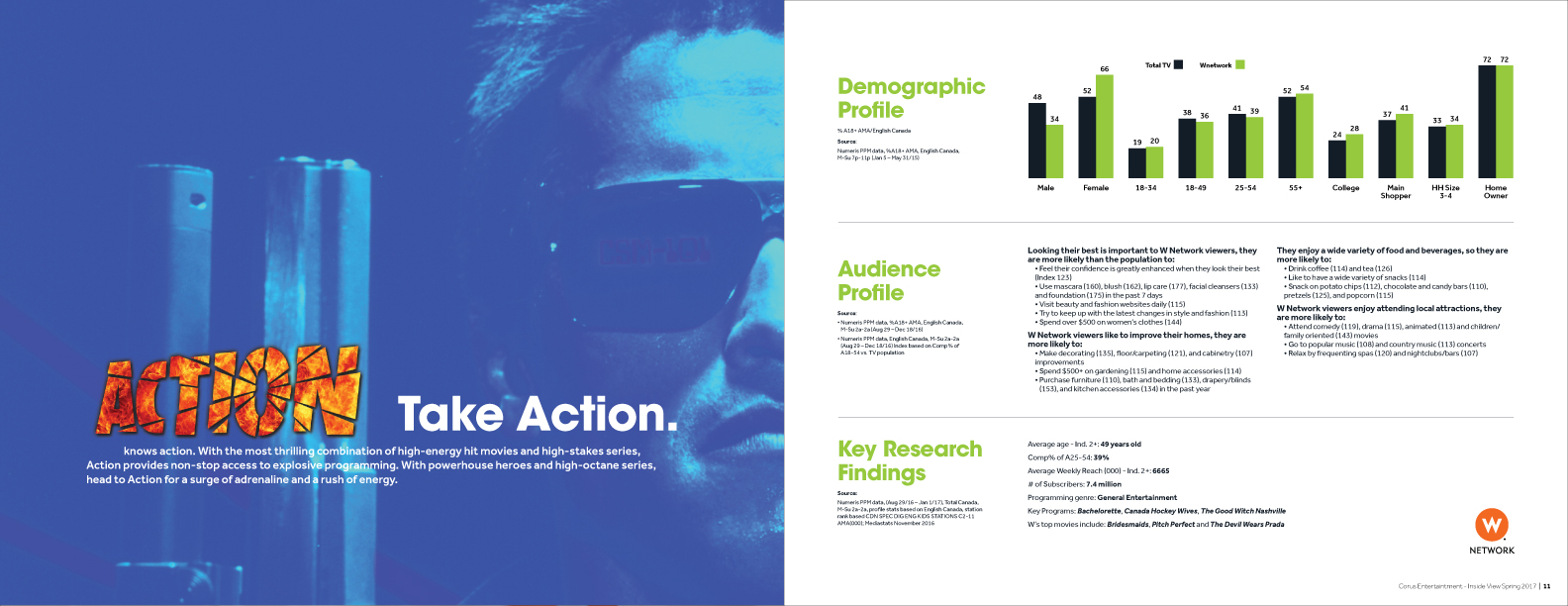 Action Print Brochure design