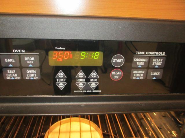 Preheat your oven.