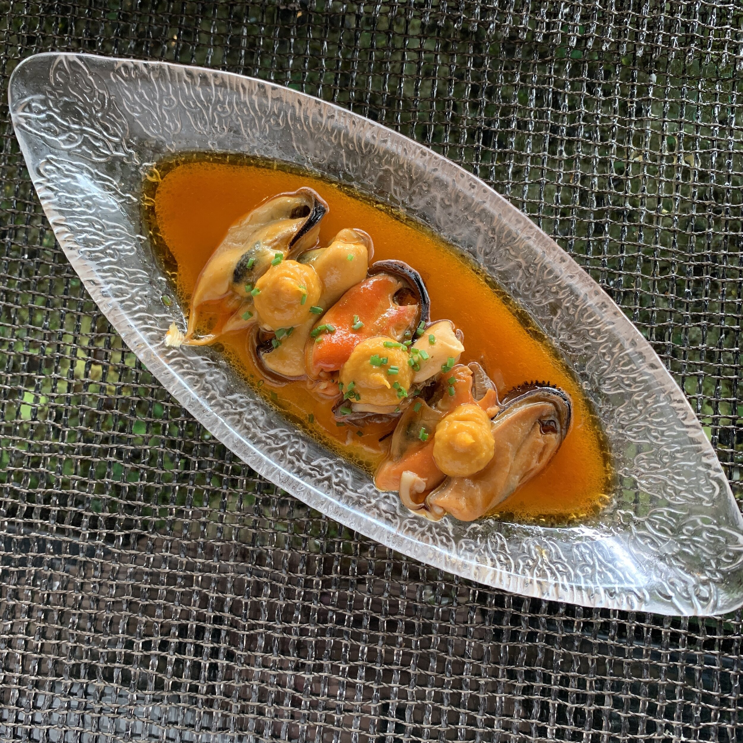 Mussels Escabeche