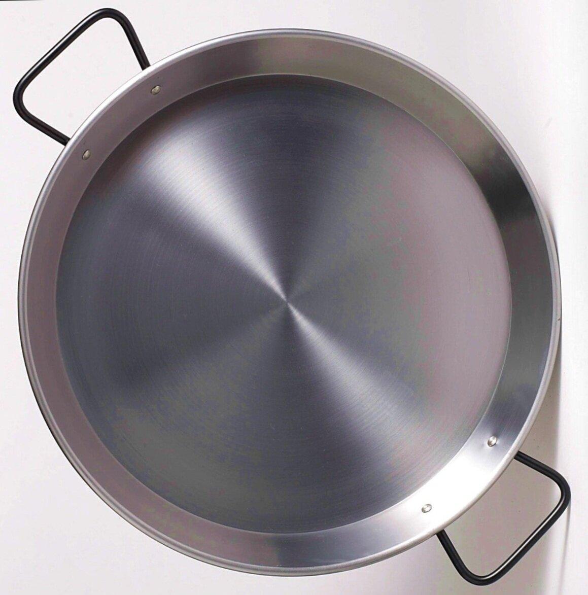 Double Gauge Steel Pan - Best for Induction cooktops