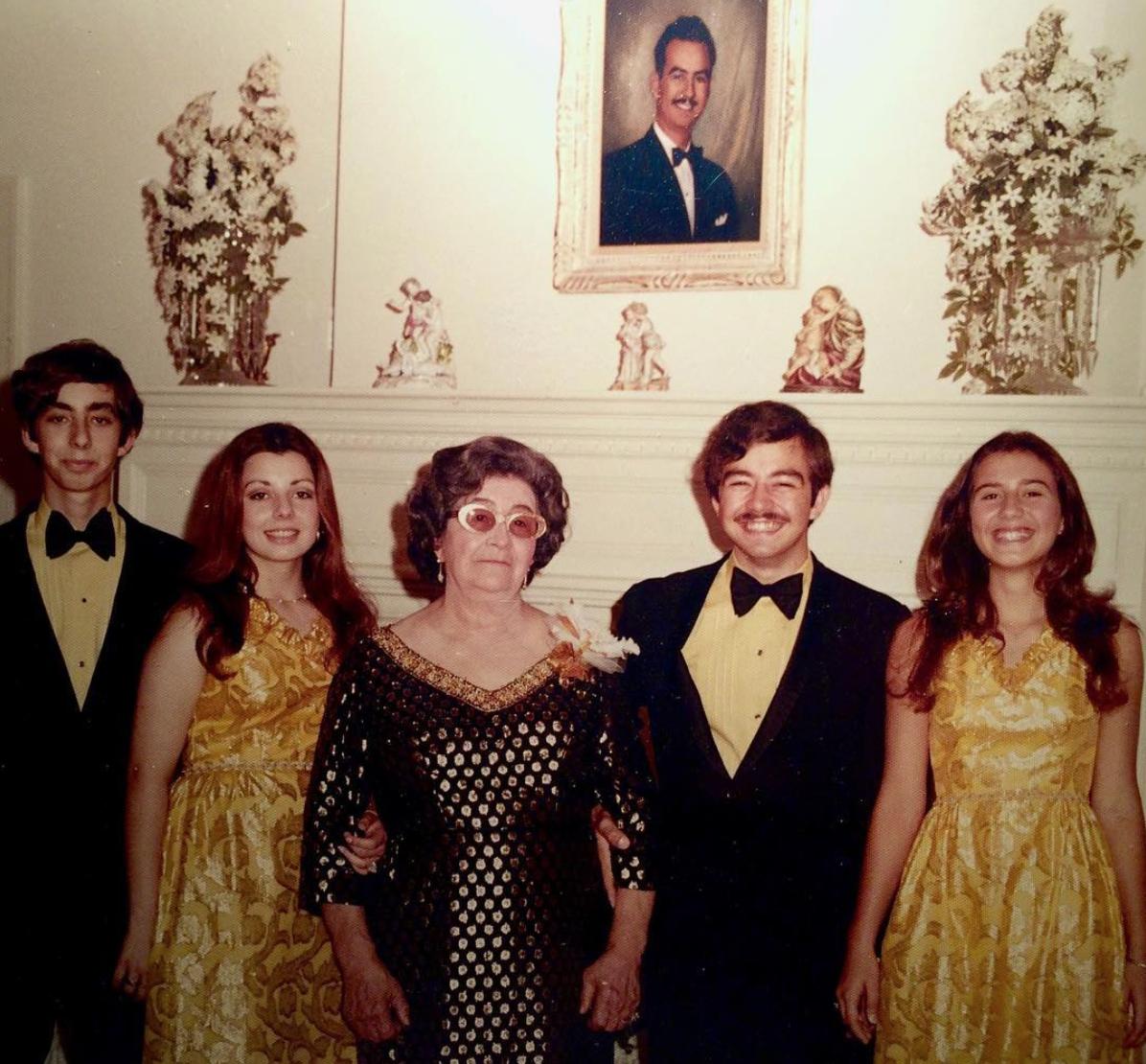 Uncle Andy, Aunt JoAnn, Grandma Alice, Pop & Tia Alice in San Antonio, Texas.