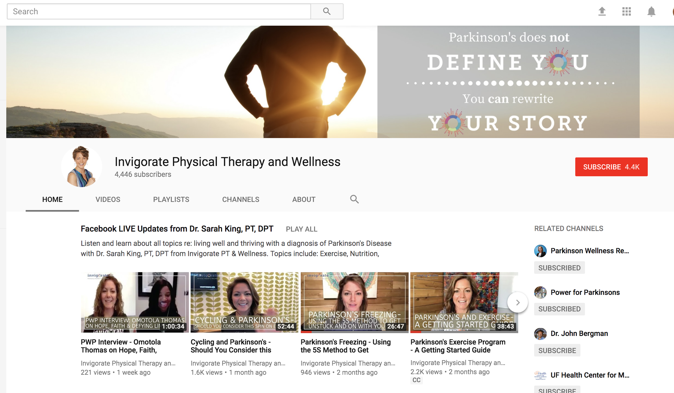 Invigorate PT Subscribe YouTube