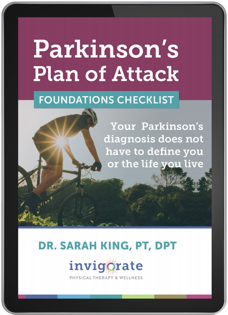 sarah king_parkinson's treatment program_foundations checklist PDF