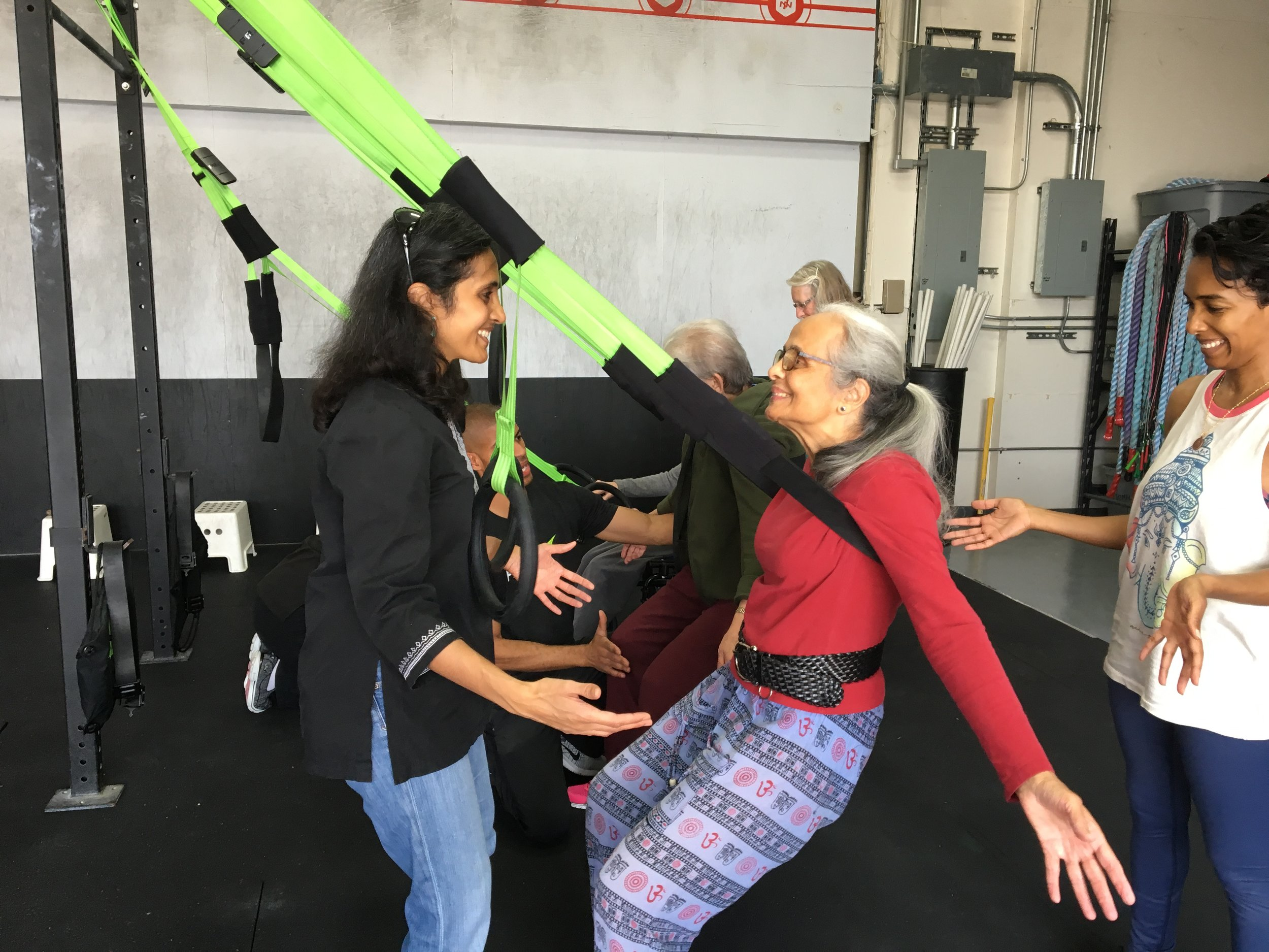Supervision and feedback is critical for potent results! Here is one of our Power for Parkinson's participants working hard in the Primal 7 unit.