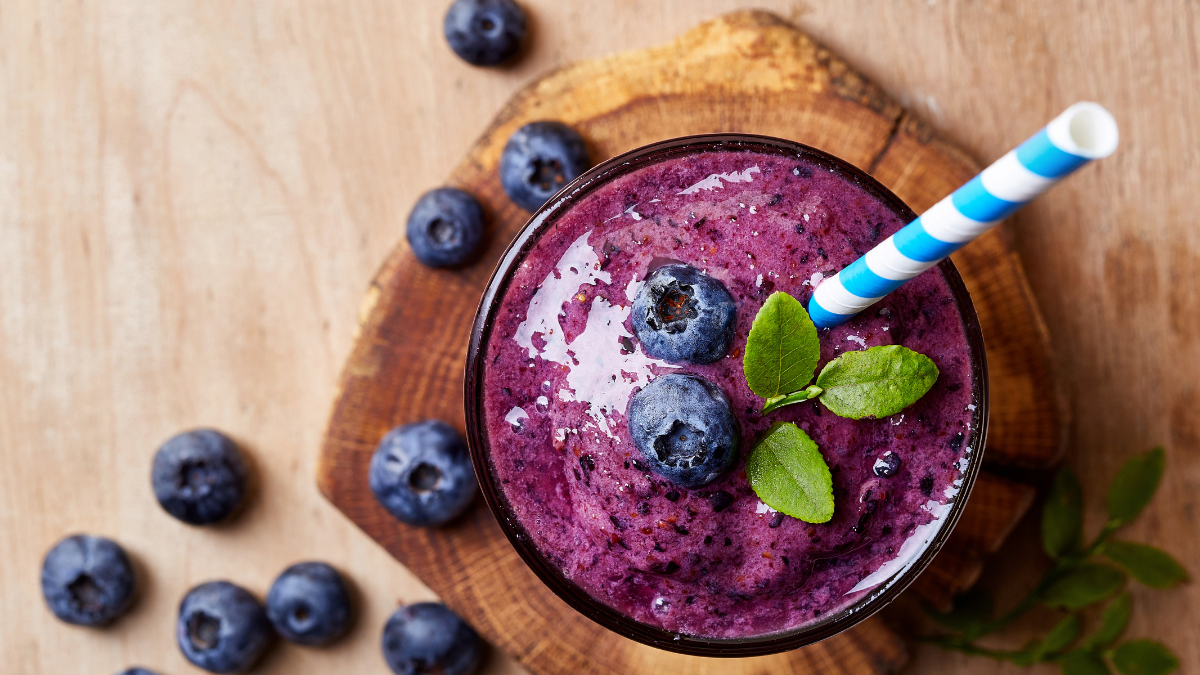 parkinsons-breakfast-berry-smoothie