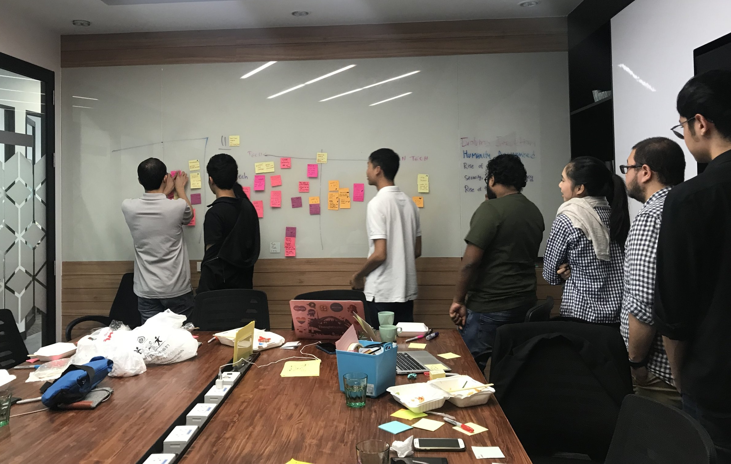 January - getting ideas on meetup topics for 2018.