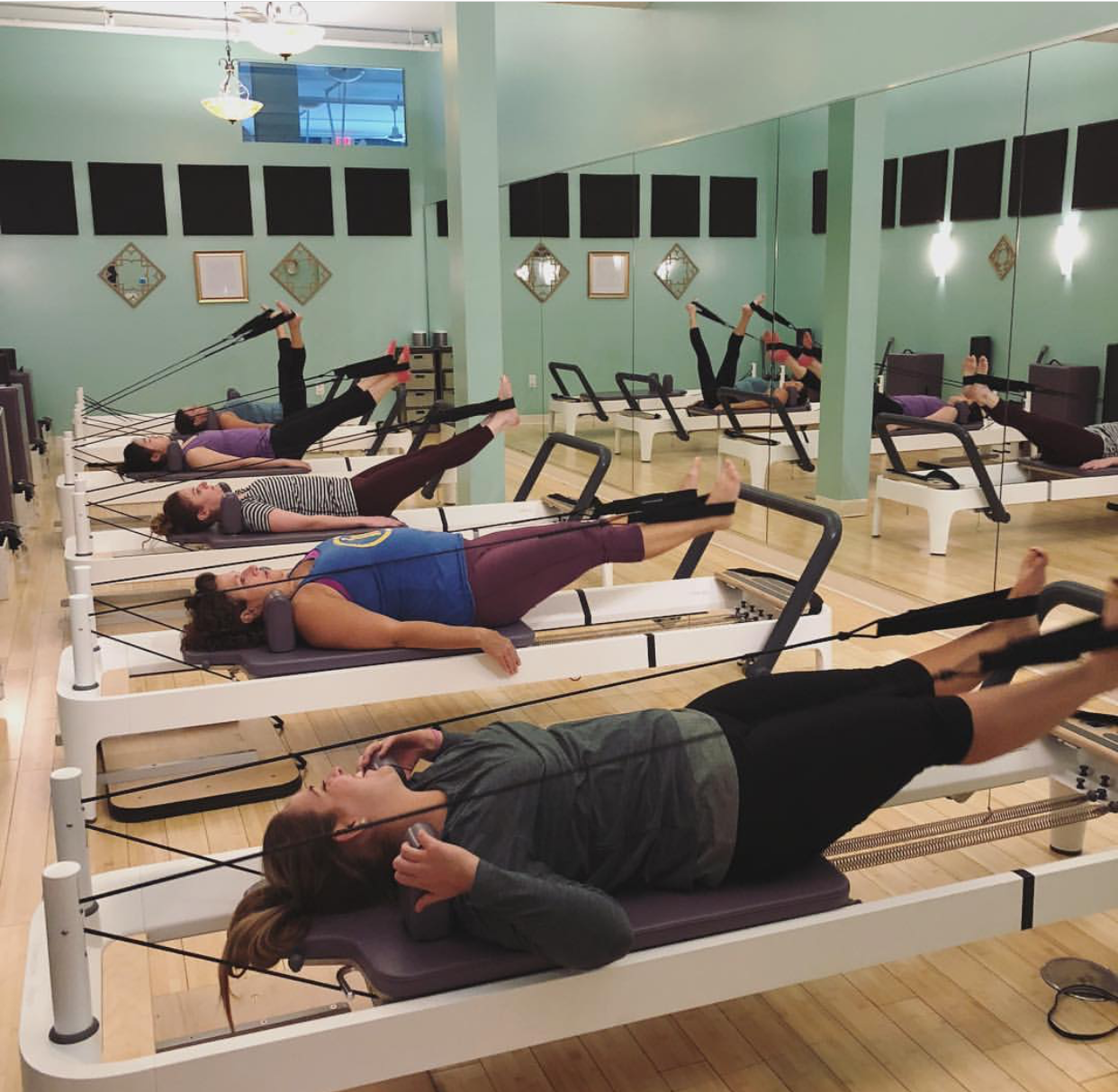 The Class: Reformer Instructor:  Joy Nicht  | Location:  Reforming Indy