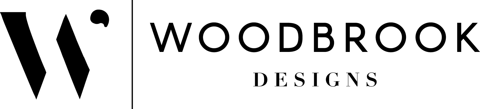 Woodbrook Secondary Logo Black.png
