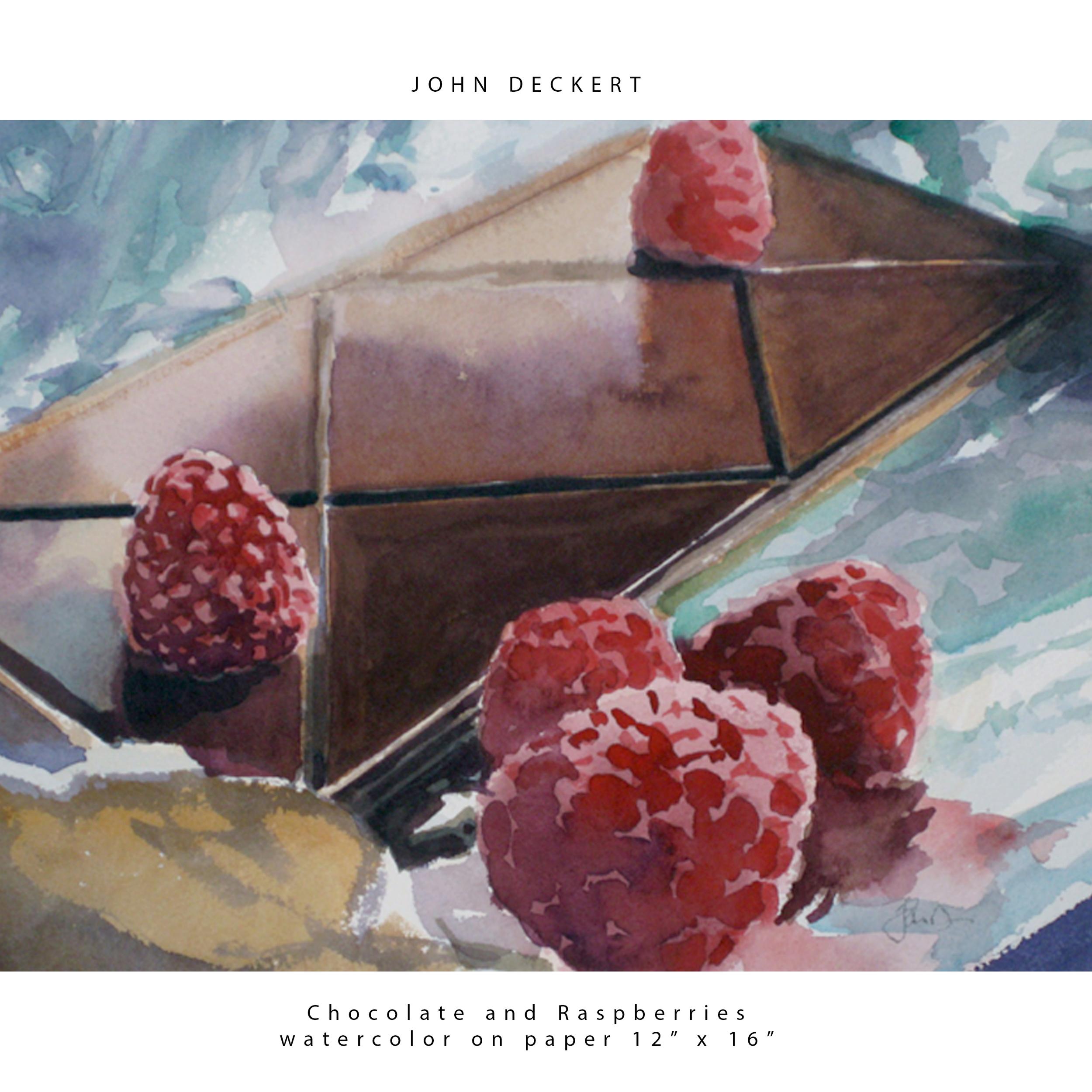 Chocolate and Rasberries