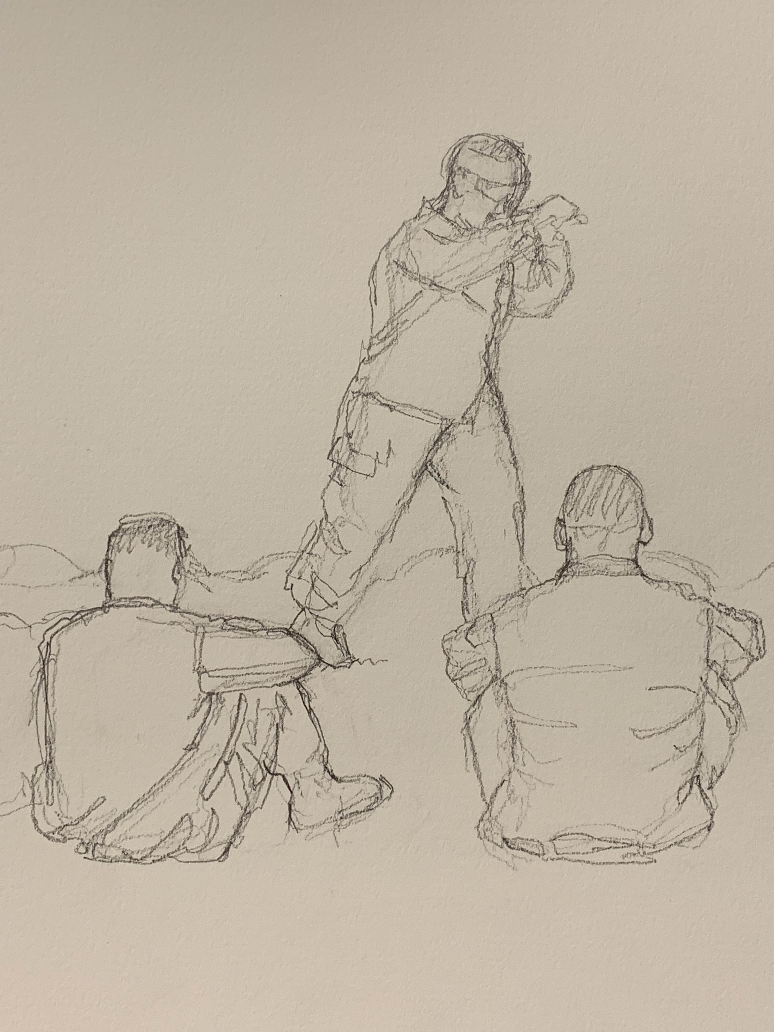 MCMAP Tan Belt Hand to Hand Combat Training with instruction by Sergeant Gouveia.