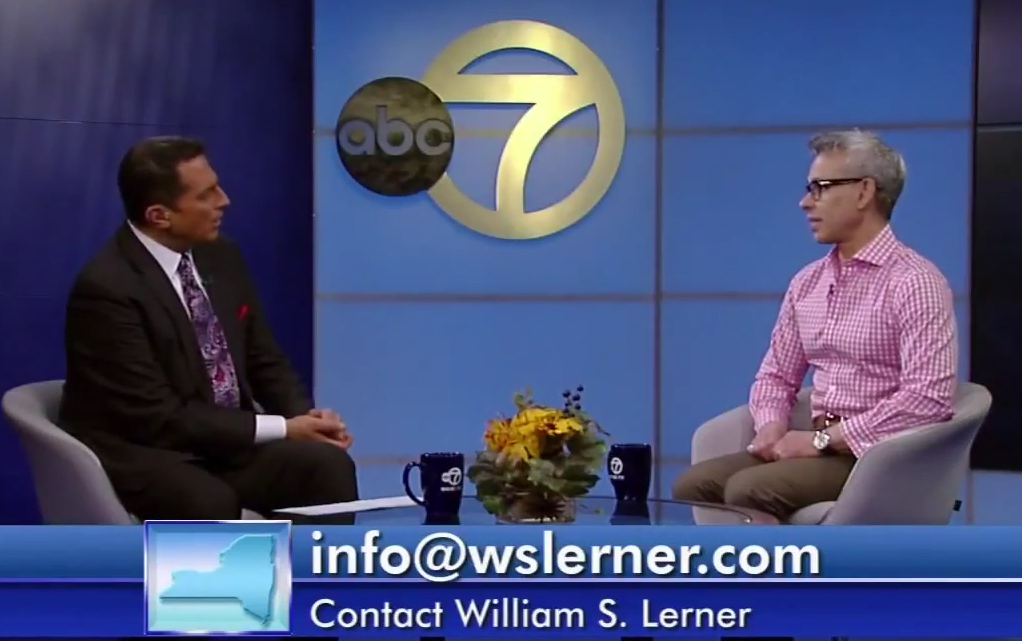 William shares interesting facts and helpful tips on burn prevention with host Ken Rosato.