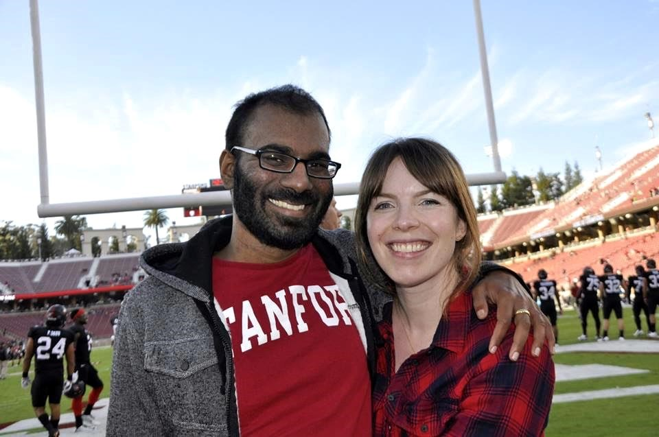 In better days, before his death, surgeon Paul Kalanithi and his wife, Lucy, an internist.