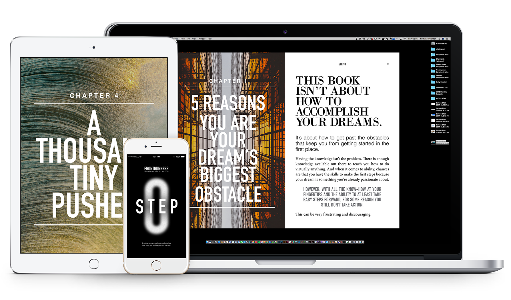 Do you struggle with getting out of your own way in your business; With negative self talk, and lack of belief? - Introducing STEP 0: a guide to overcoming the obstacles that stop you before you get started. Take your first step and download your free Sample Chapter by clicking the button below. LEARN MORE>>