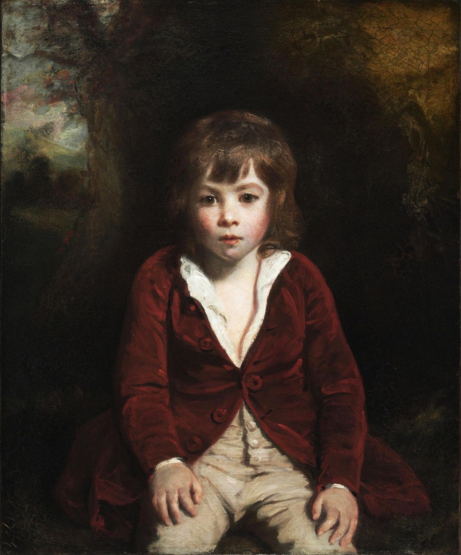 Portrait of Master Bumbury  by Sir Joshua Reynolds
