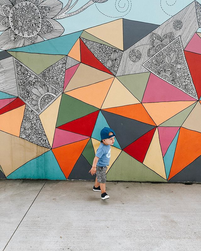 Why do you look so grown up?!? Early morning park days with my little dude at the cutest park in Nashville! Soaking in this last bit of my maternity leave!  #momminsohard #momlife #2under2 #18monthsold #momblogger #momminainteasy #nashville #nashvillemurals