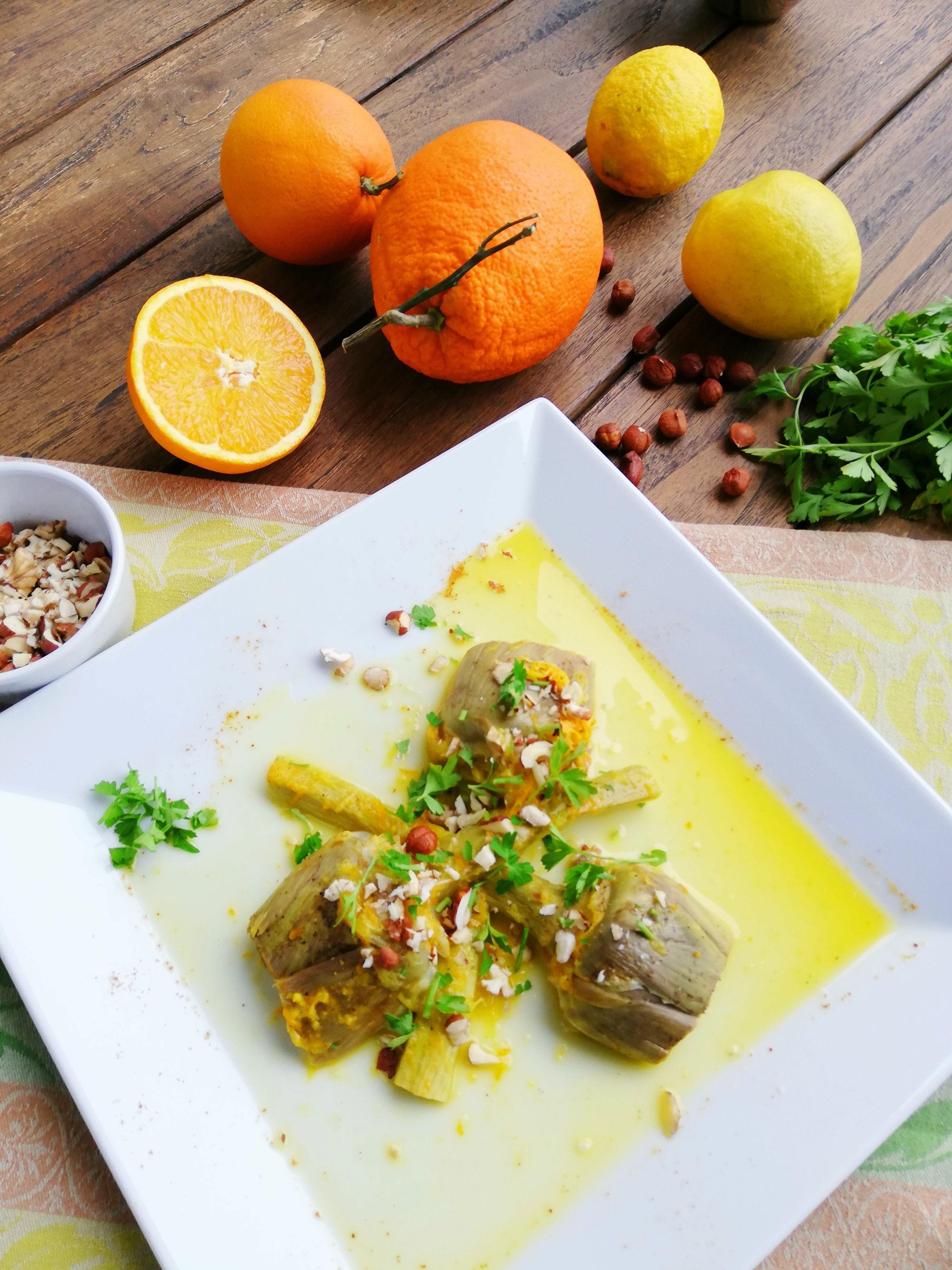 Alcachofas con naranja 1.jpg