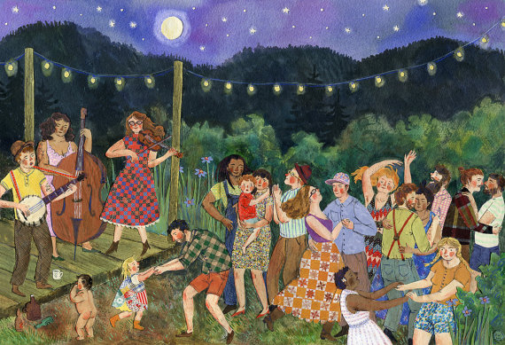 """""""Moon Dance"""" by  Phoebe Wahl"""