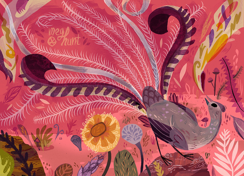 "Meg Hunt ""Lyrebird"""
