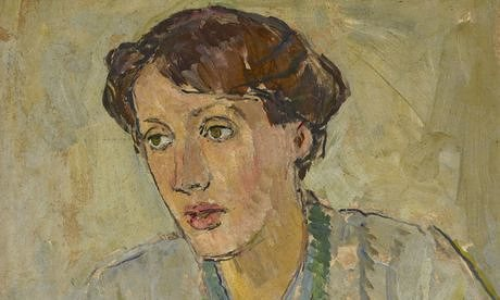A portrait of Virginia Woolf by her sister, Vanessa Bell