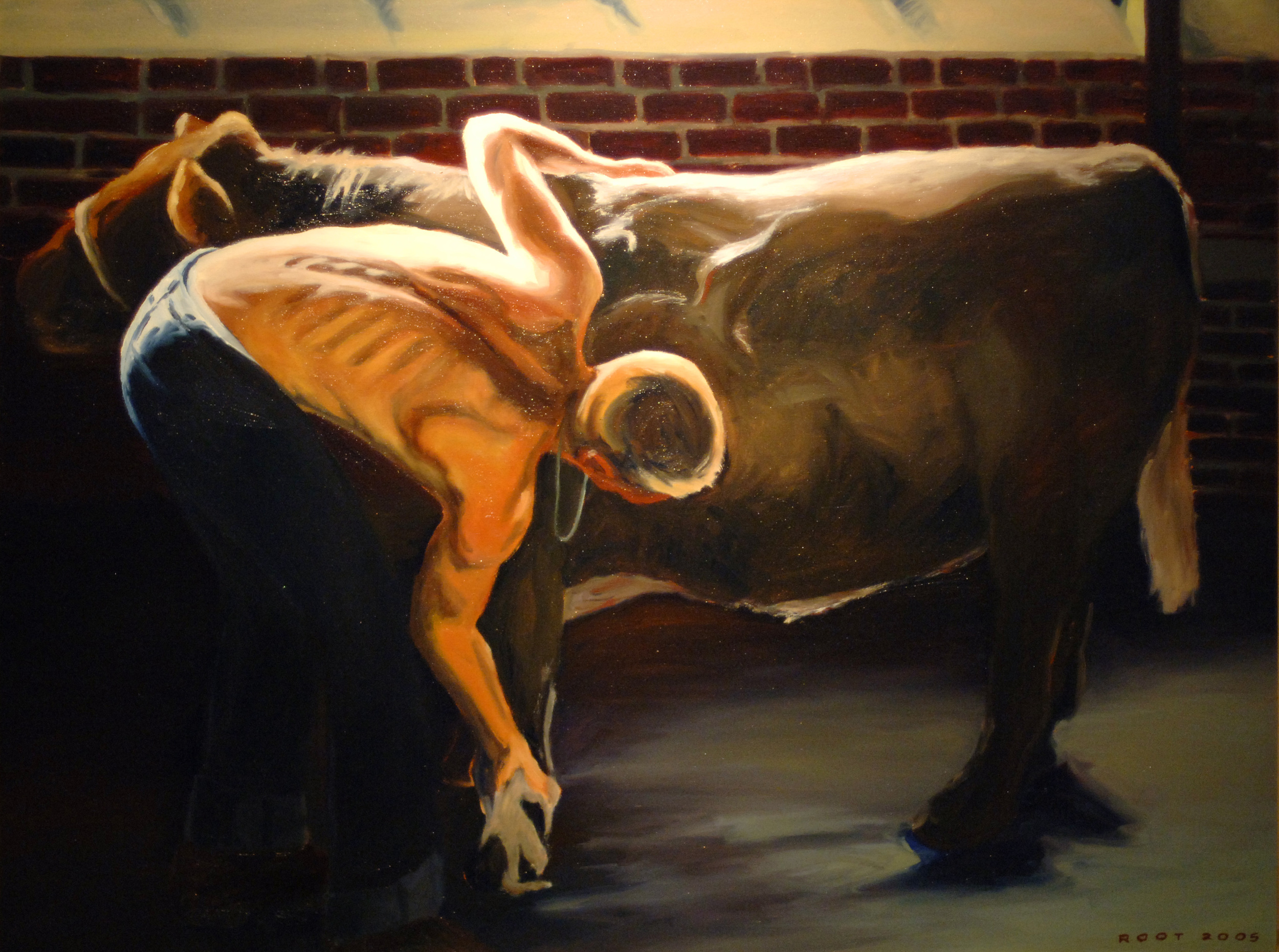 Boy and Steer, 1962