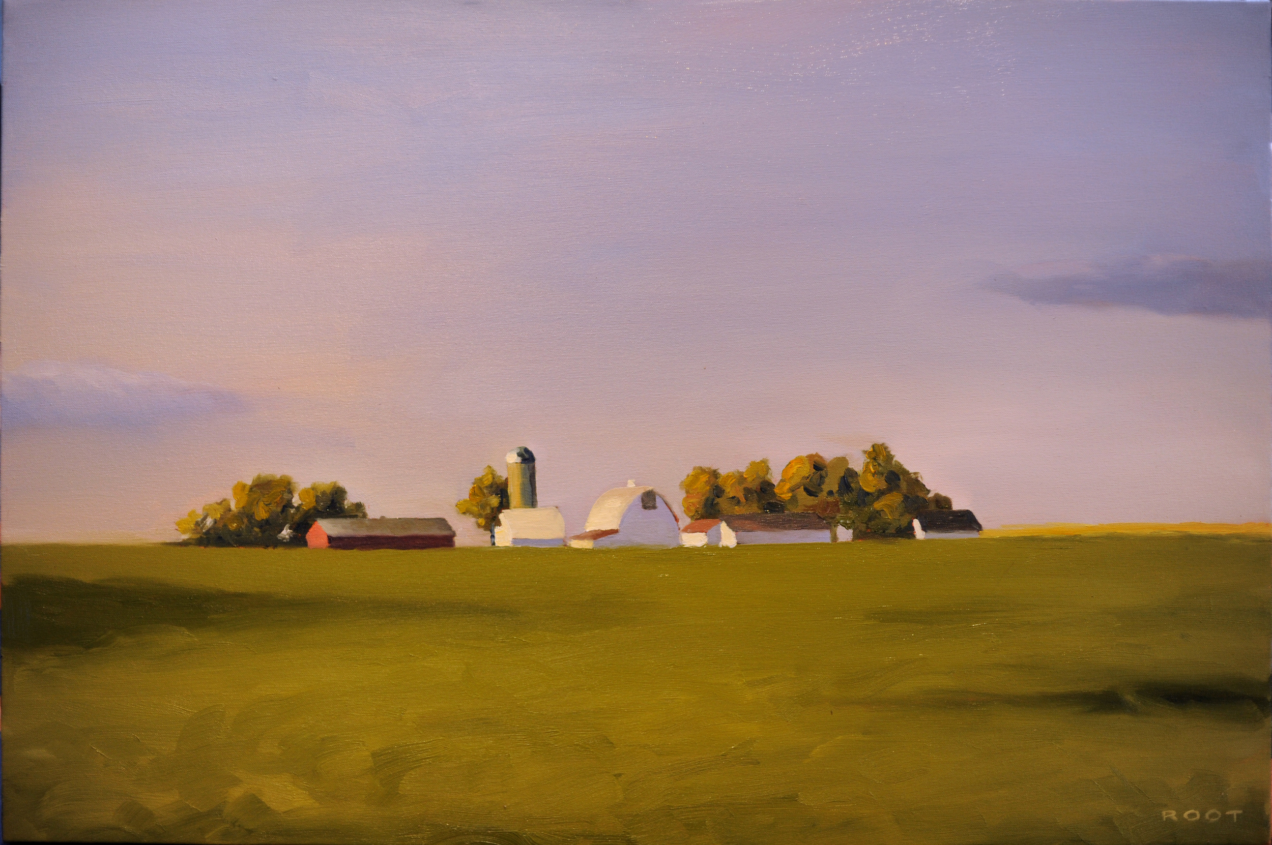 Illinois Farm, Evening