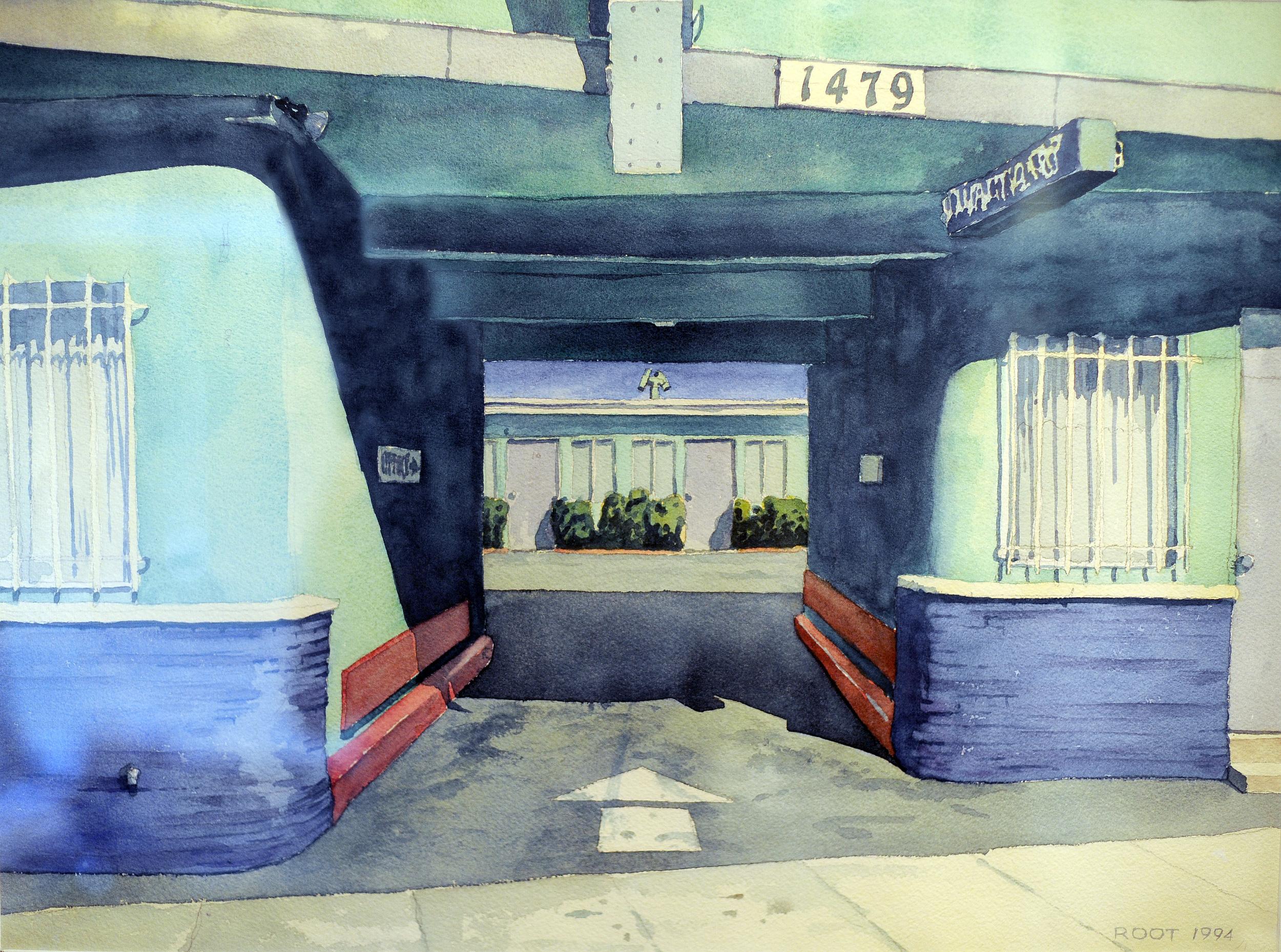 La Cieniga Motel, LA